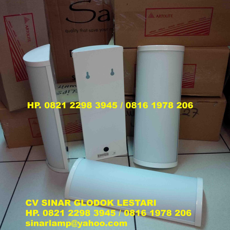 Lampu Dinding Artolite Wl Elips E27 White Sinar Glodok Lestari Agen Dan Distributor Lampu Cv Sinar Glodok Lestari
